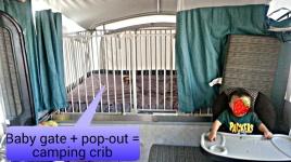 camping crib