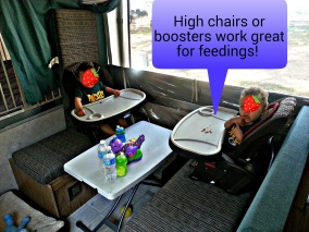Camping high chairs