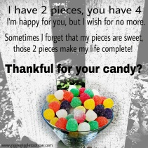 thankful for your candy?