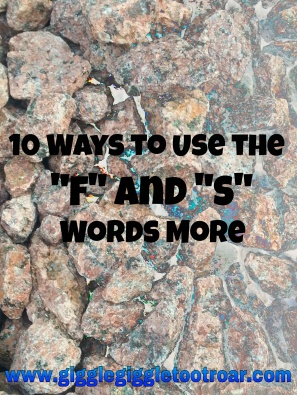 Rocks - f-s words