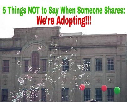 We're adopting