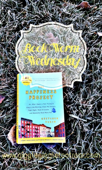 Book Worm Wednesday Happiness Project