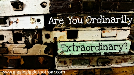 Are you ordinarily extraordinary
